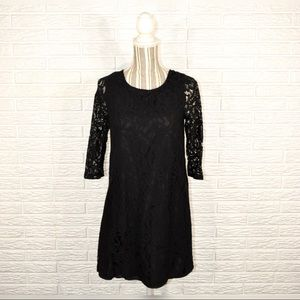 Jack Black Lace Dress Open Back